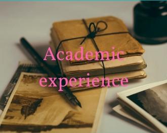 AcademicExperience