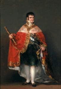 King Fernando VII, 1815