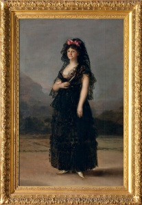 Maria Luisa with Mantilla 1799
