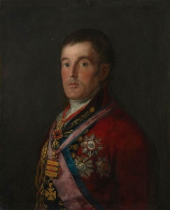 Francisco de Goya, 1746 - 1828 The Duke of Wellington 1812-14 Oil on mahogany, 64.3 x 52.4 cm Bought with aid from the Wolfson Foundation and a special Exchequer grant, 1961 NG6322 http://www.nationalgallery.org.uk/paintings/NG6322