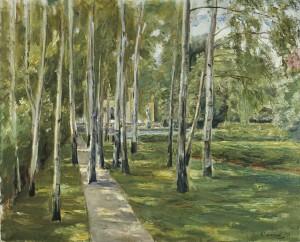 Der Garten des Künstlers. 1918