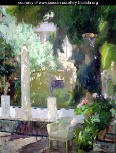 The-Gardens-at-the-Sorolla-Family-House,-1920